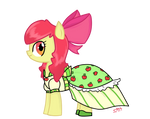 Apple Bloom ready for the Gala