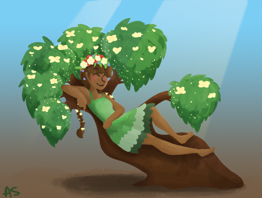 Plant Queen by AnneHairball