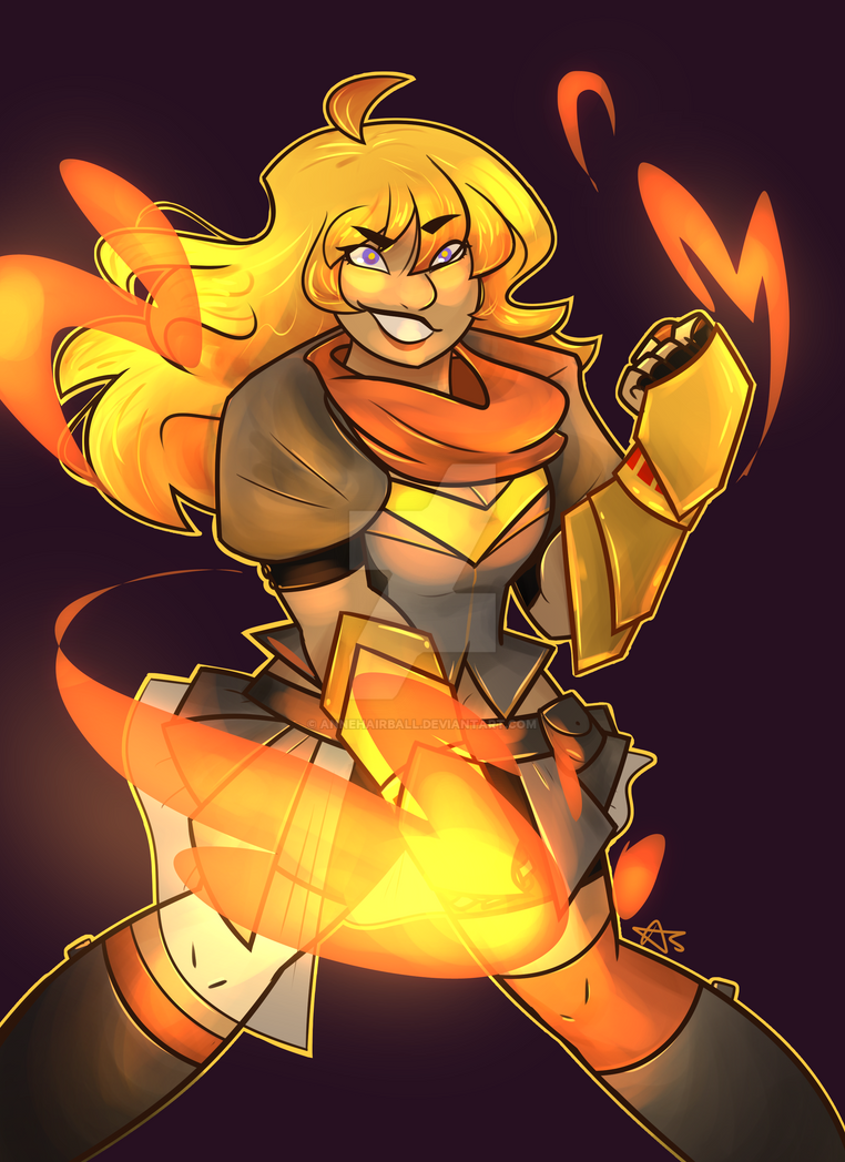 The Firey Bae by AnneHairball