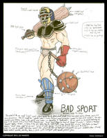 BAD SPORT = *UNSUBMITTED* Motu Contest Entry #01 by Oz-Muerte