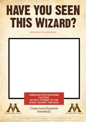 M.O.M Wanted Poster - Wizard