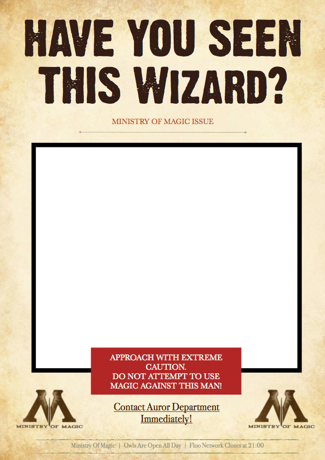 photo about Have You Seen This Wizard Printable identified as Harry Potter Birthday Celebration Do it yourself ashleighelizabethphotography