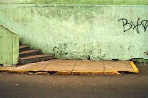 Green Wall, Miraflores, Lima