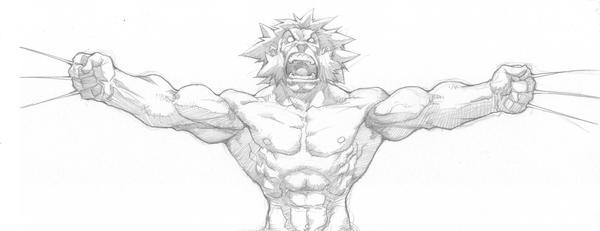 wolverine roars by tincan21