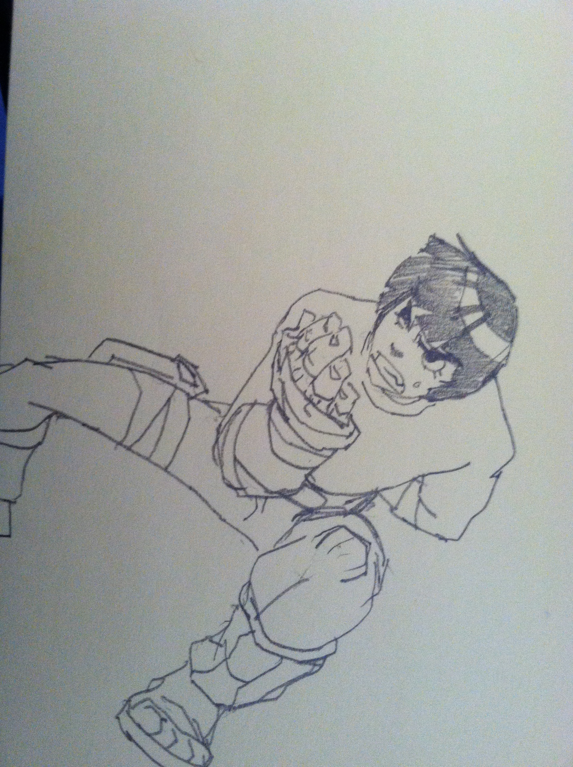 Untitled rock lee by tincan21
