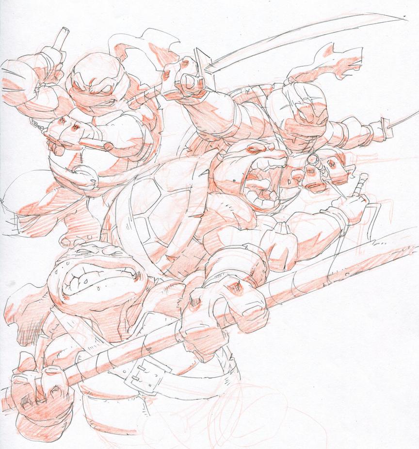4 ninjas by tincan21