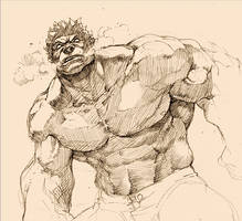 Hulk comes back by tincan21