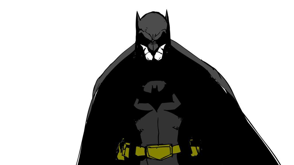 Batman noir by tincan21