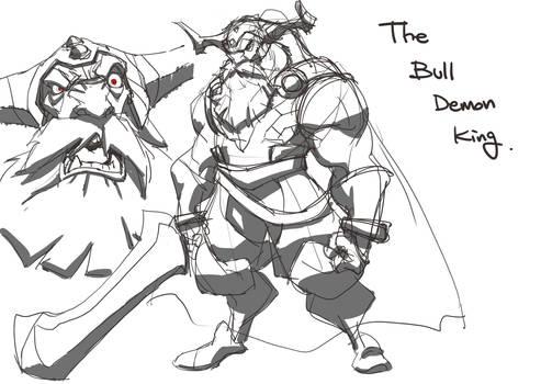The Bull demon king