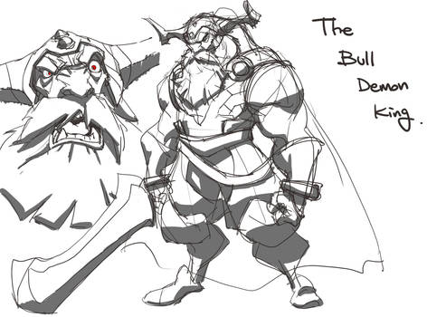 The Bull demon king