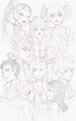 BotP: Uncolored Group by CookieBaker