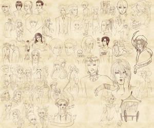 Sketch Dump by CookieBaker