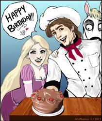 Happy Birthdaaay! [Tangled] by ArcMagnus