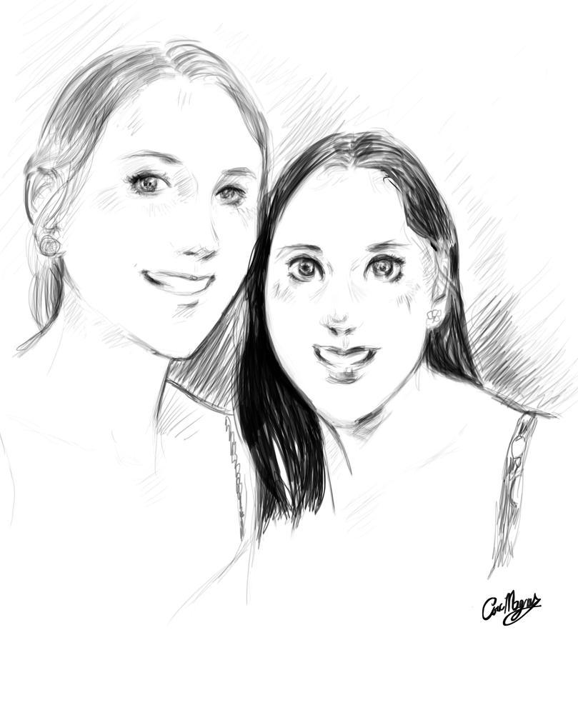 RedditGetsDrawn - Challenge Sketch #2 by ArcMagnus