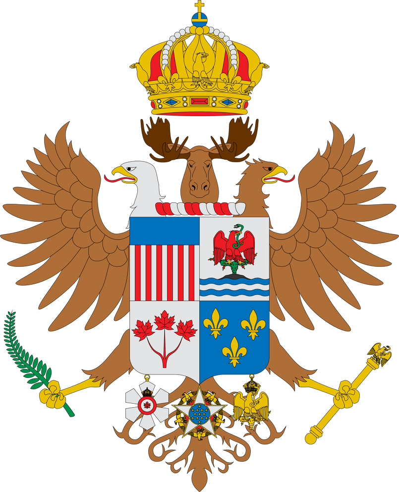 great coat of arms of north america by albburguete on