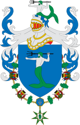 Coat of Arms of House Manderly by Alb-Burguete