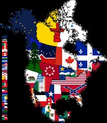 Balkanization of North America by Alb-Burguete