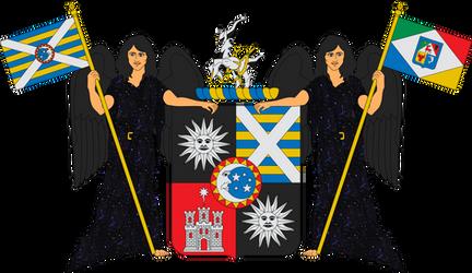 Coat of arms of Alberto 'Rigel' Castillo by Alb-Burguete