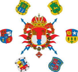 Coat of arms of Chiapan Empire by Alb-Burguete