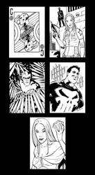 Charity Sketchcards by therealARTURO