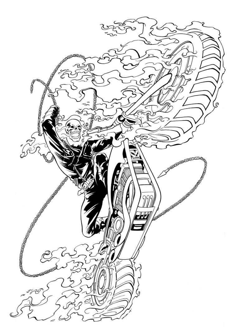 ghost rider by therealarturo on deviantart