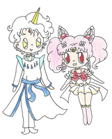 Helios And Chibiusa by ambidextrious-witch