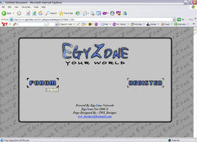 Old Egyzone Design by PeterTWL