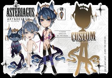 [open] cs: Asteriagus adopt CLAIM + custom by Reineka