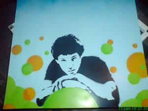 stencil of me
