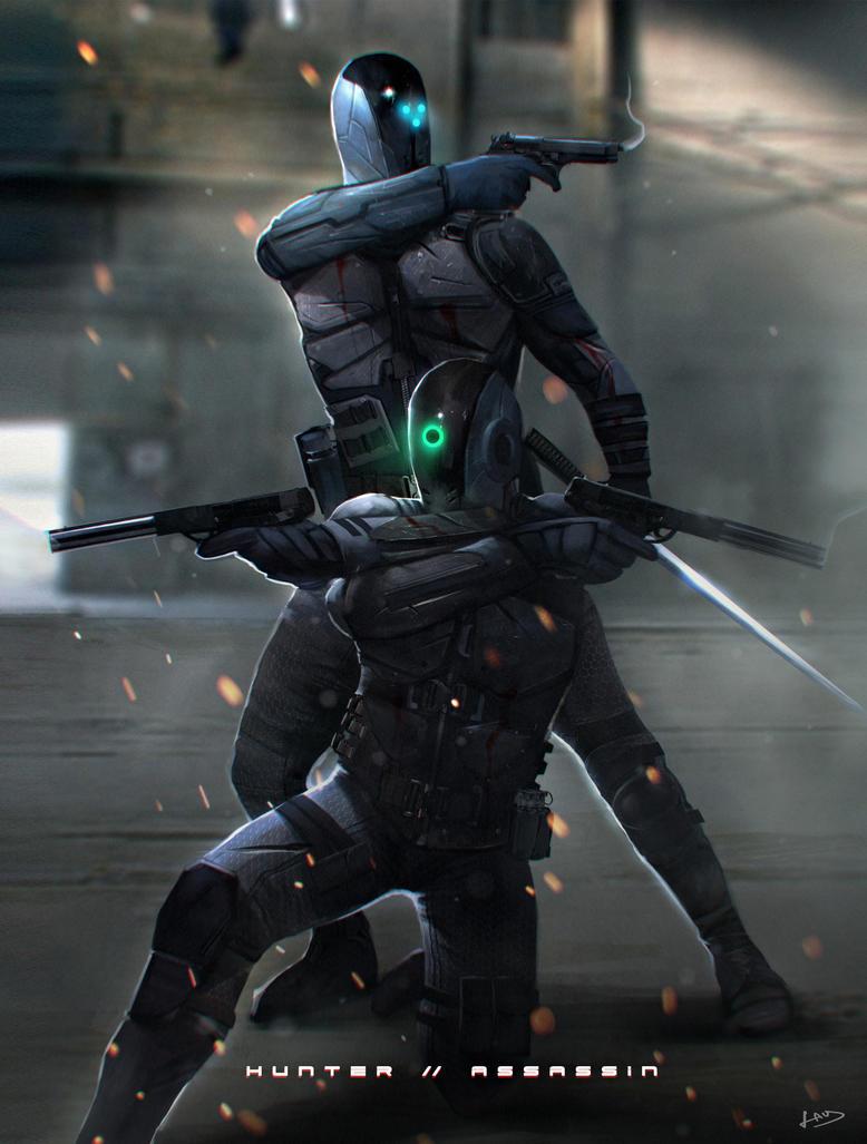 Cyborg Ninjas by PencilandStylus on DeviantArt