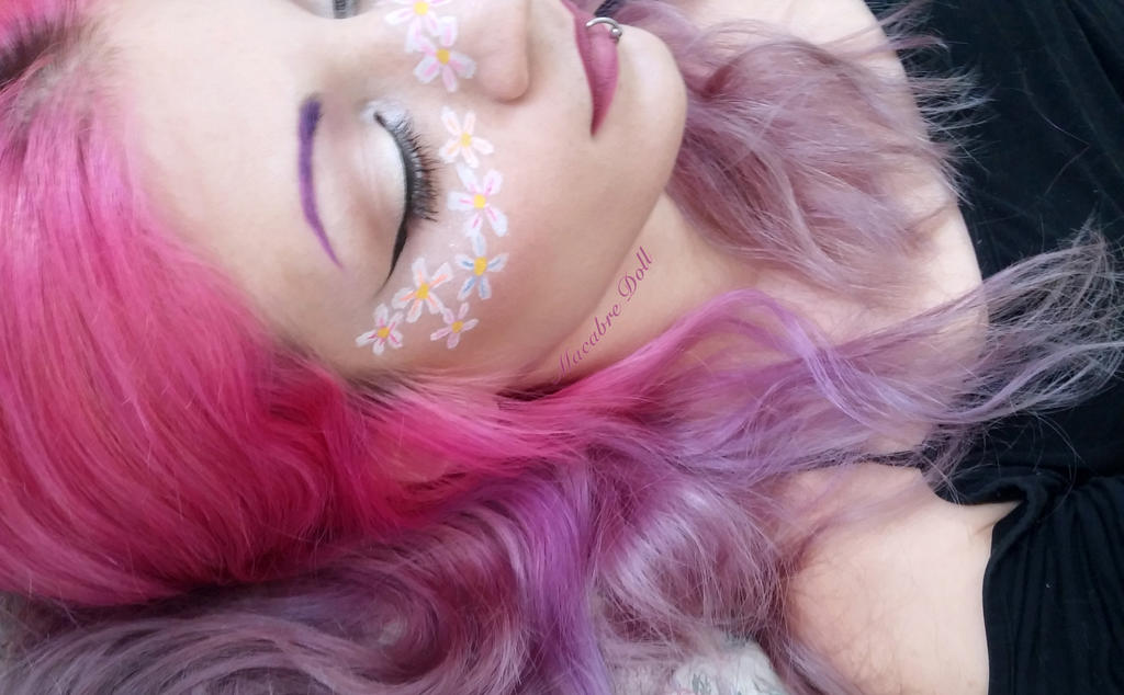 Flower freckles by MacabreDollFashion