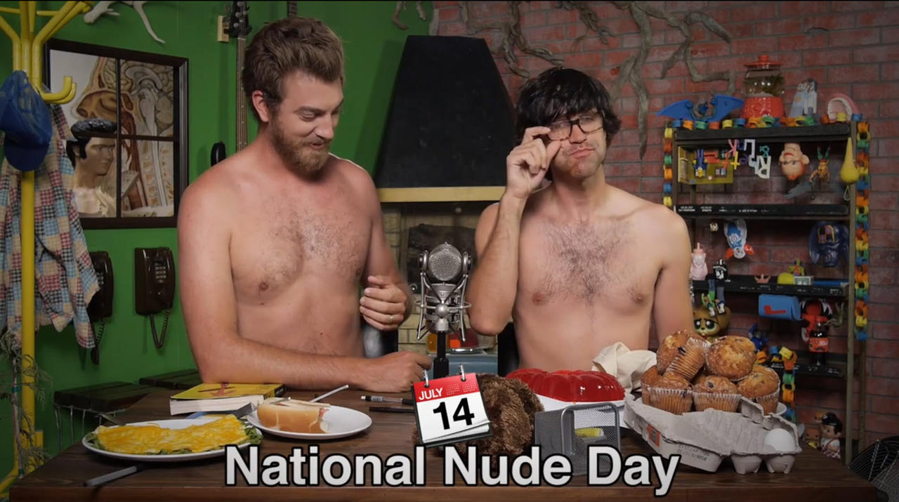 National nude day on Tumblr