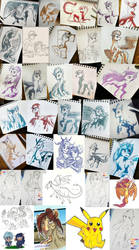 Sketch Dump by avafury