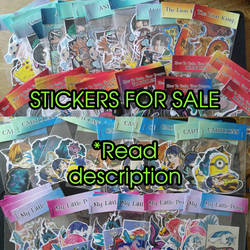 Stickers for sale OPEN by avafury