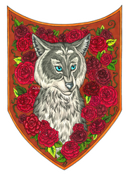 Wolf blazon by avafury