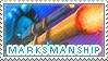 Marksmanship Hunter Stamp by Kaicow
