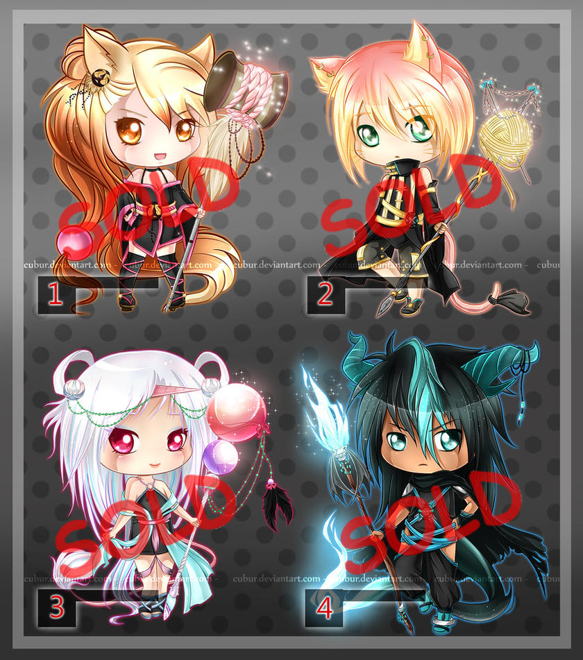 ::Adopts Set - 1:: [CLOSED] by CuBur