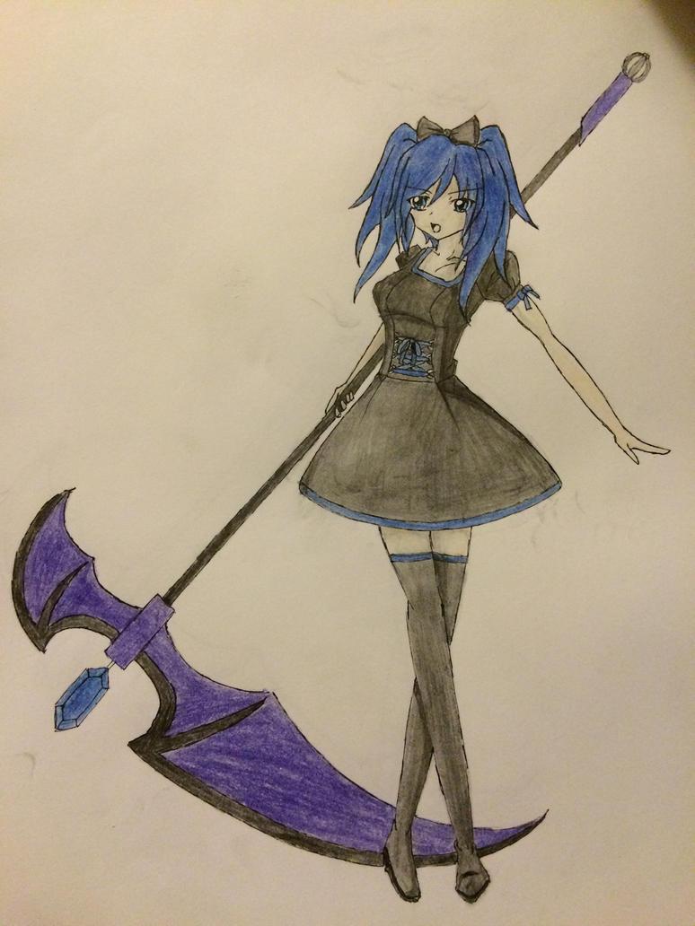 My OC by Sailor-Jeimi
