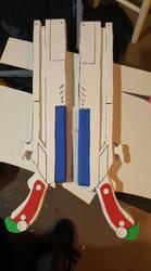 Noel Vermillion Guns WIP by Sailor-Jeimi