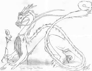 Tsuo- Dragon Form by Pen-Coywolf