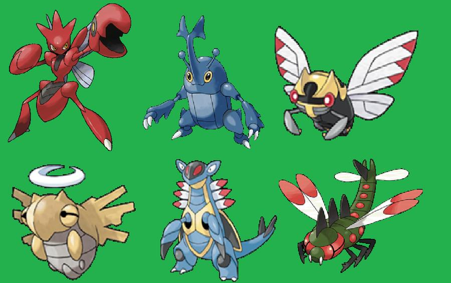 Bug Type Pokemon Images | Pokemon Images