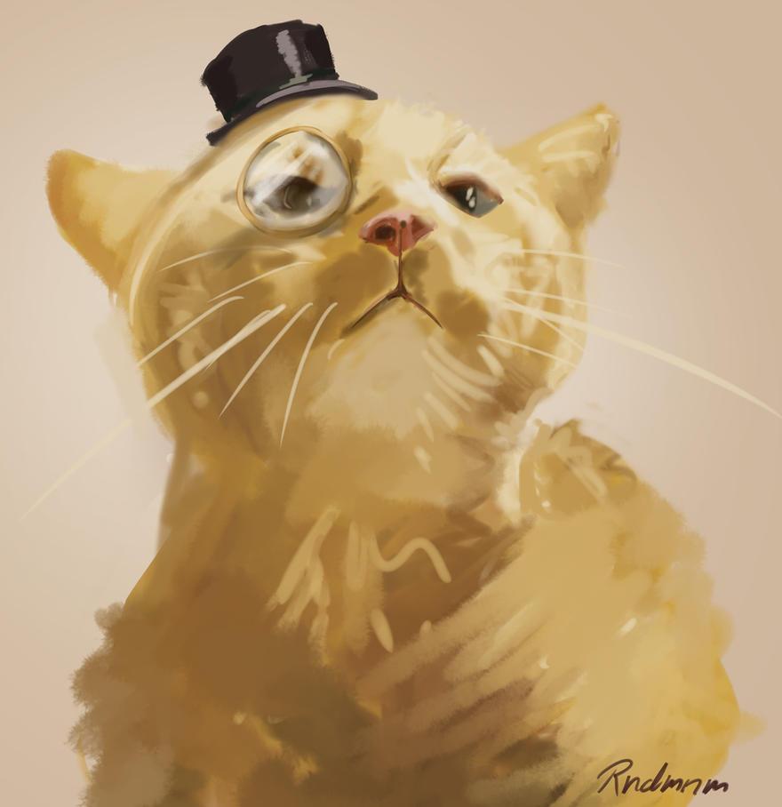 Sir Kitty by rndmnm