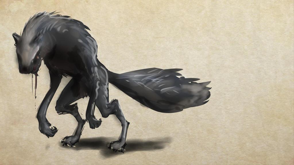 Werewolf by rndmnm