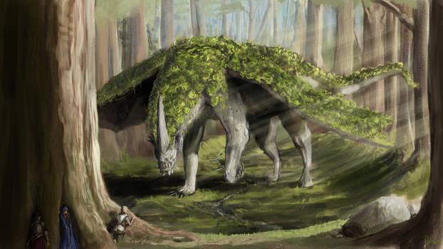 Green Woodling Dragon