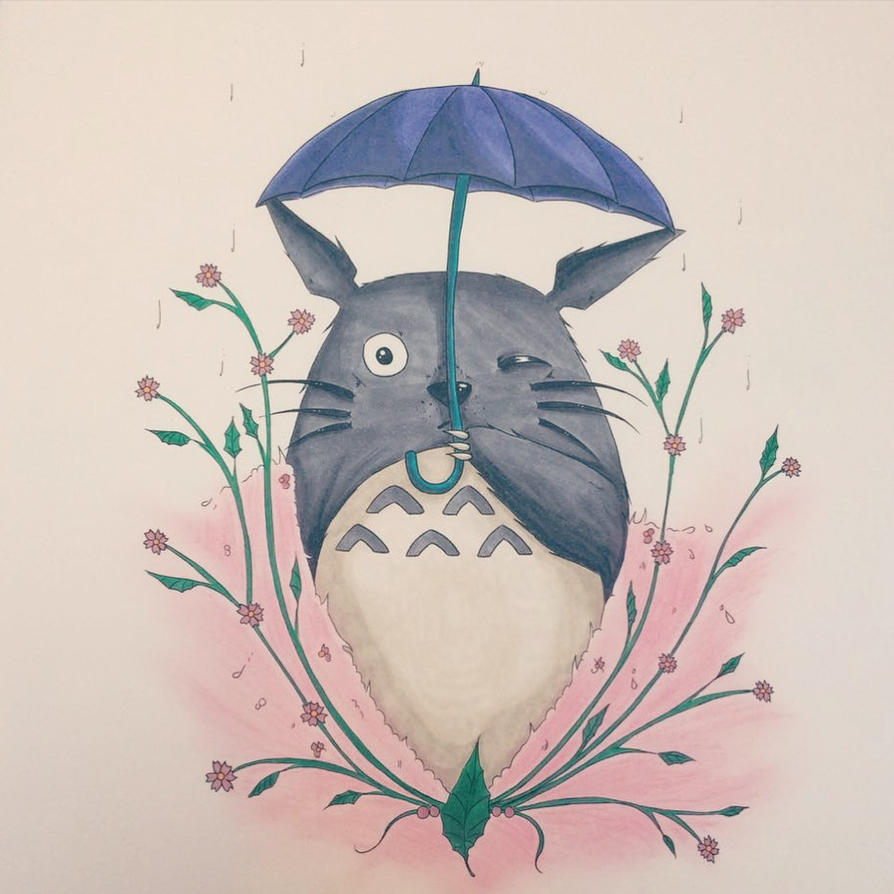 Totoro Colored Version by ReaperBat