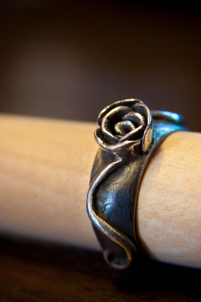 Black rose by Alandil-Lenard