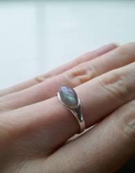 Labradorite Ring by Alandil-Lenard
