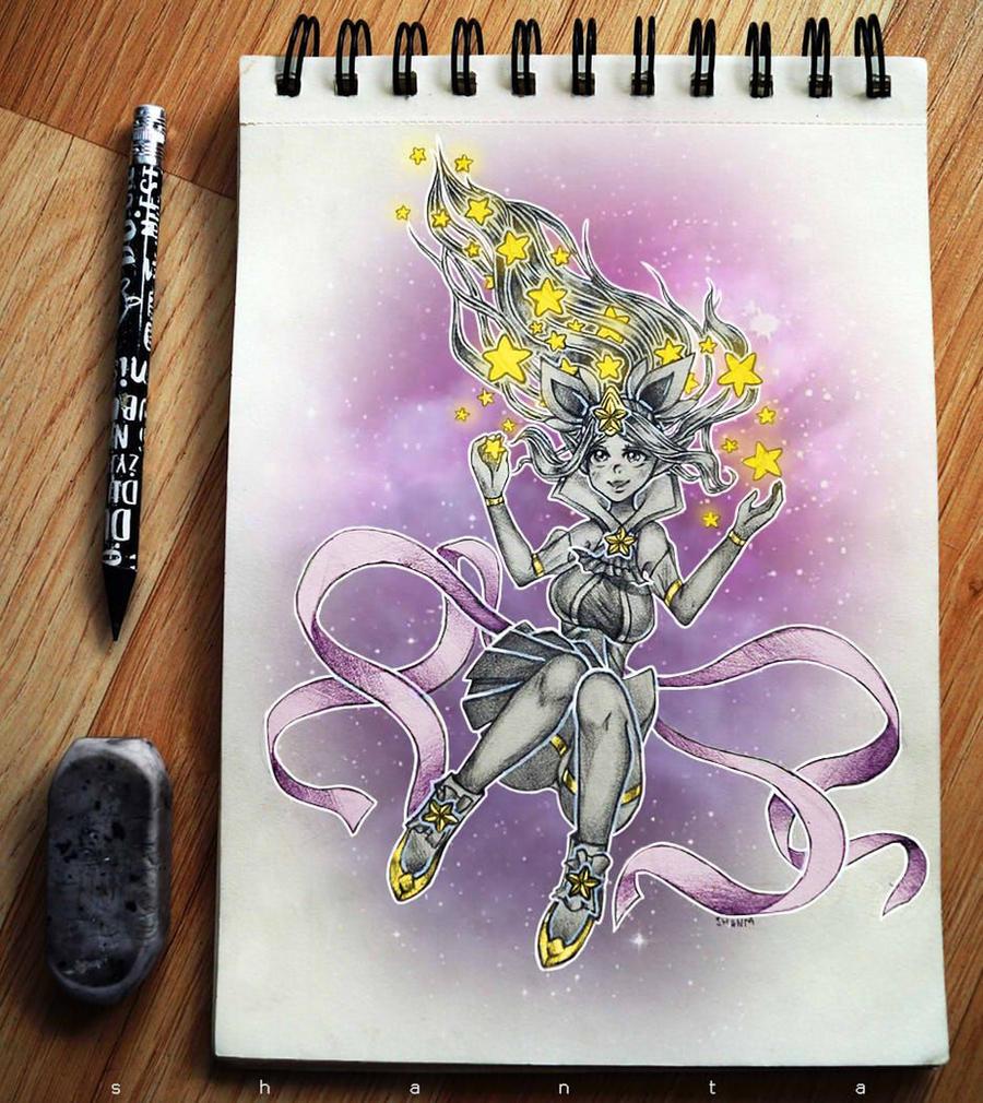 Star Guardian Janna from League of Legends by SHANTA-art