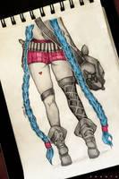 Jinx from League of Legends by SHANTA-art