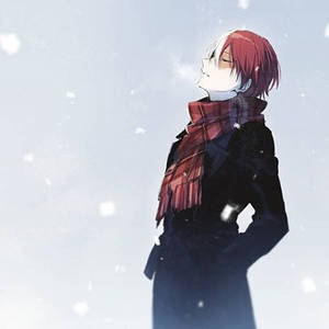 A Place to Stay Warm  (Todoroki Shouto x Reader) by dinosauruses on